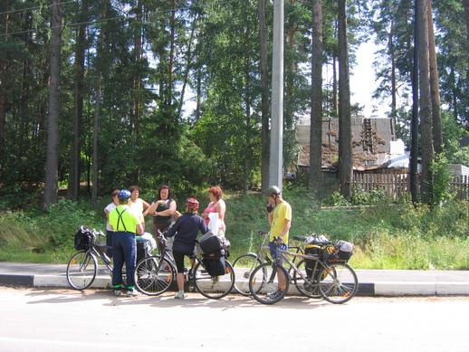 Велогруппа в д. Кандикюля