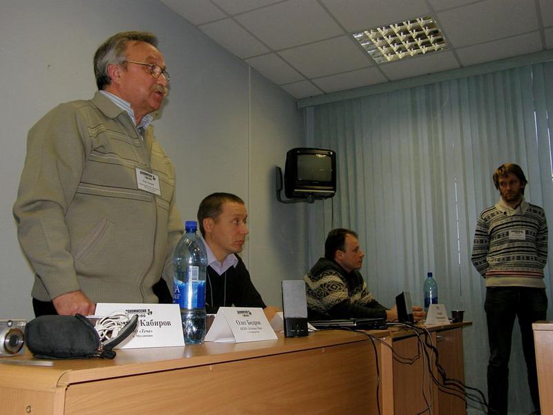 Олег Бодров, во время обсуждения фильма