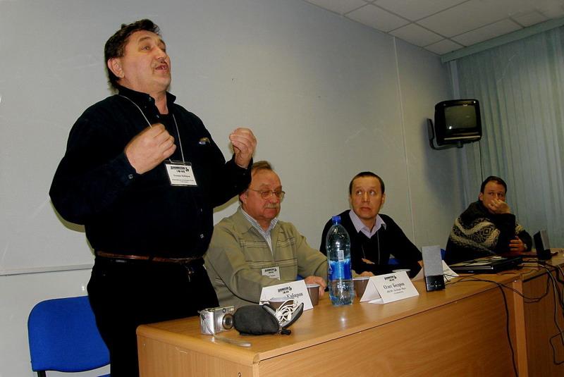 Госман Кабиров, во время обсуждения фильма