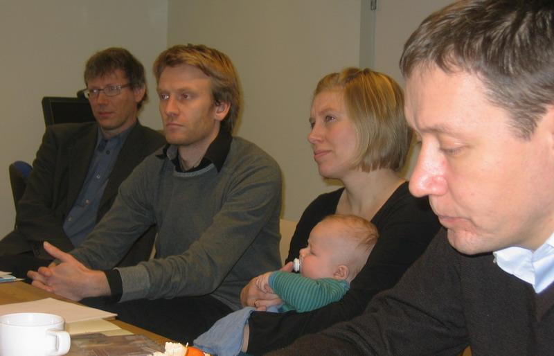 Во встрече участвовало и новое поколение