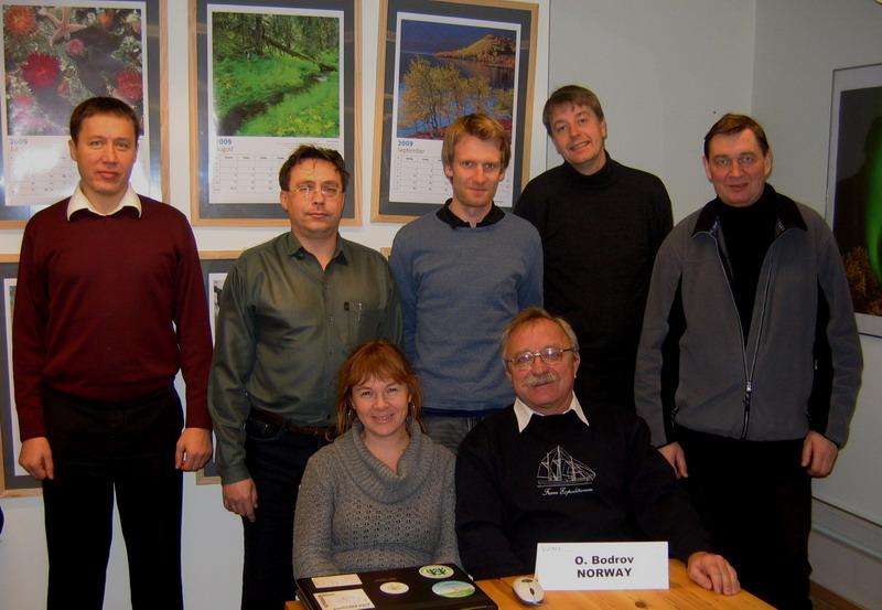 Участники встречи в Осло