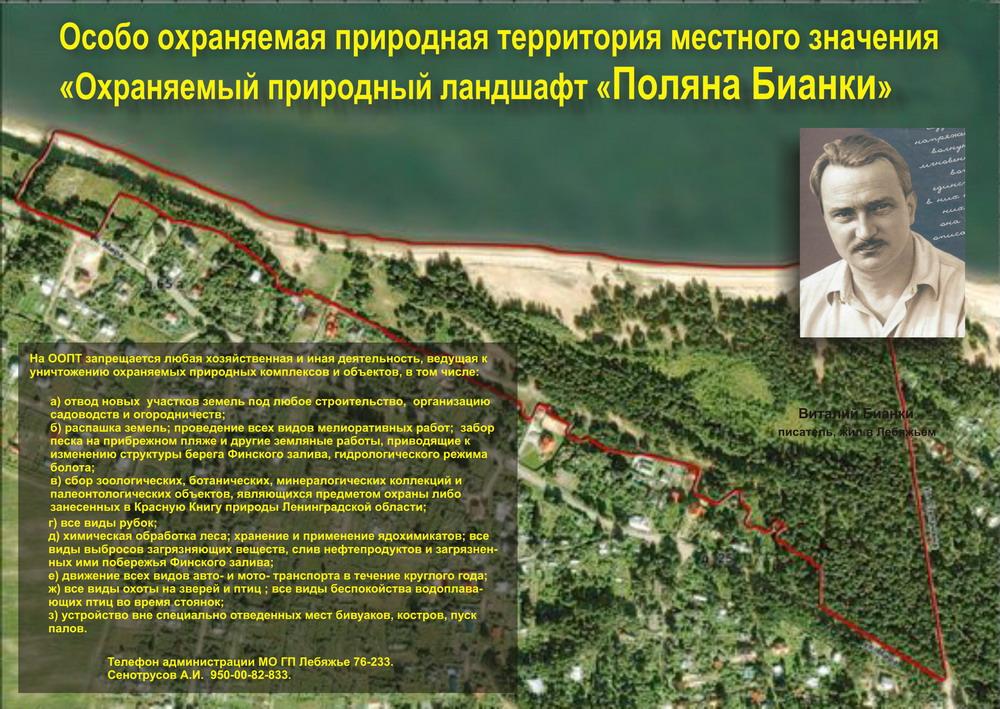 """Муниципальная природоохранная территория """"Поляна Бианки"""""""