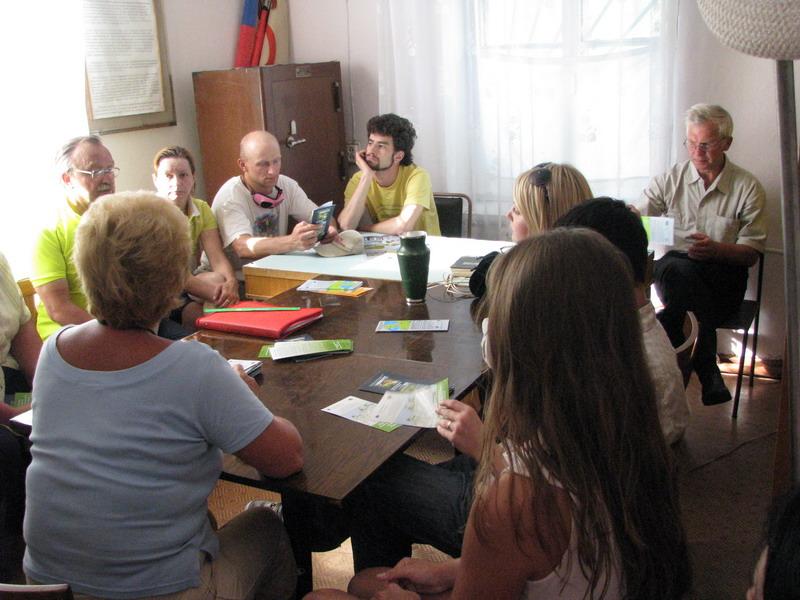 Встреча с группой экоактивистов г. Приморска